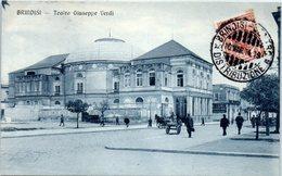 ITALIE --  BRINDISI --  Teatro Giuseppe Verdi - Brindisi
