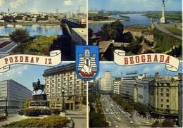 Pozdrav Iz Beograda - 1095 - Formato Grande Viaggiata Mancante Di Affrancatura – E 9 - Jugoslavia