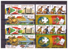 Burundi 1974 - MNH ** - UPU - Michel Nr. 1069B-1074B Série Complète (bdi059) - Burundi