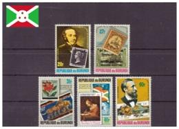 Burundi 1979 - MNH ** - Rowland Hill - Timbres Sur Timbres - Michel Nr. 1522A-1526A Série Complète (bdi062) - 1970-79: Neufs
