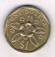 1 DOLLAR 1988 SINGAPORE /9112/ - Singapour
