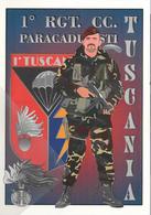 1° RGT. CC. Carabinieri Paracadutisti Tuscania Nei Secoli Fedeli - Manovre