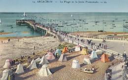 ARCACHON - La Plage Et La Jetée Promenade - Arcachon