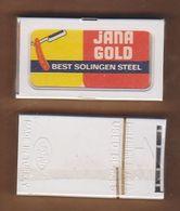 AC - JANA GOLD SHAVING RAZOR BLADE IN UNOPENED BOX MADE IN TURKEY - Lames De Rasoir