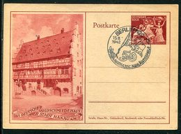"""Deutsches Reich / 1942 / Sonderpostkarte Mi. P 293 Int. SSt. Berlin """"Hertha BSC-Jubilaeumsspiele"""" (4/056) - Deutschland"""