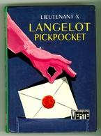"Bibliothèque Verte. - Lieutenant X - ""Langelot Pickpocket"" - 1976 - Bibliothèque Verte"