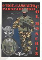 9° RGT. D'Assalto Paracadutisti Col Moschin Della Folgore L'Impero Paà - Manovre