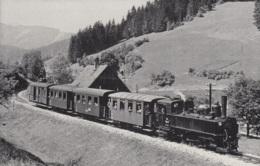 Dampflok 598.03 Der Ybbstalbahn,bei Lunz Am See, Ungelaufen - Treni