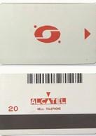 ALGERIE___Alcatel Bell Magnetic Test/trial___20u Red___RRR - Algérie