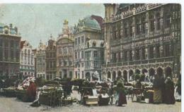 Brussel - Bruxelles - Marché Aux Fleurs - 1912 - Plätze