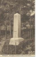 Rossignol - Stèle érigée à L'endroit Ou Tomba Ernest Psichari - Edit. J. Yande - Tintigny