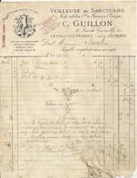 LEVALLOIS PERRET C GUILLON VEILLEUSE DU SANCTUAIRE ENCENS BRAISE PYROLIQUE RATS DE CAVES MECHE TUBULAIRE ANNEE 1907 - France