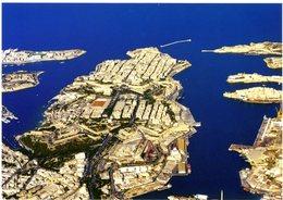 Malta. Valletta. Aerial View. Marsamxetto Harbour And Grand Harbour. Malte. Vue Aérienne. Port Marsamxetto Et Grand Port - Malte