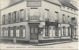 D77 - NEMOURS - SOCIETE GENERALE - AGENCE DE NEMOURS - 20  ET 22 RUE DES MOULINS - Nemours