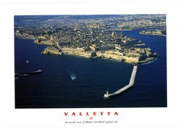 Malta. Valletta. An Aerial View Of Malta's Fortified Capital City. The Maltese Islands. Malte. Vue Aérienne La Valette. - Malte
