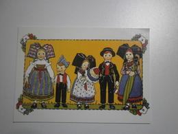 Illustrateur Hansi. Aujourd'hui Nous Avons Mis Nos Beaux Costumes. CPM/GF (GF550) - Hansi