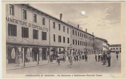 A 49- OSPEDALETTO DI GEMONA 1939 STABILIMENTO COSANI - Italia