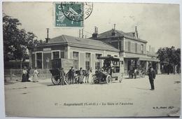 LA GARE ET L'AUTOBUS - ARGENTEUIL - Argenteuil