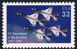 Etats-Unis - 50e Anniversaire Du Département Des Forces Aériennes 2664 (année 1997) ** - Neufs
