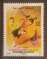DE23 - Morocco 2009 MNH Stamp Grand Prix Tennis Sports - Morocco (1956-...)