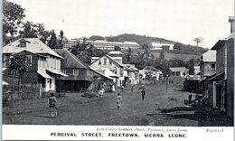 AFRIQUE --  SIERRA LEONE -- Street , Freetown - Sierra Leone