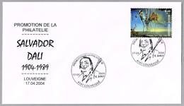 SALVADOR DALI. Louveigne 2004 - Arte