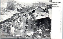 AFRIQUE --  SIERRA LEONE -- Sackville Steet  FREETOWN - Sierra Leone