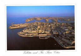 Malta. Valletta And The Three Cities. Maltese Archipelago. Built Right After The 1565 Siege. Malte. La Valette. - Malte