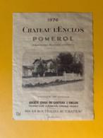 9402 -  Château L'Enclos 1976  Pomerol - Bordeaux