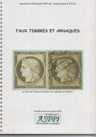 Faux Timbres Et Arnaques ASPPI - Faux Et Reproductions