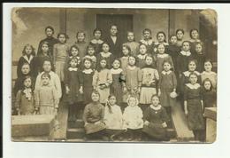70- Haute Saone - Corre- Carte Photo école - écrite De Corre- Fillette à Son Papa Dans Les Tranchées -2 Scanns- - Autres Communes