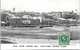 AFRIQUE --  SIERRA LEONE - View From Susans Bay - Freetown - Sierra Leone