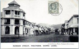 AFRIQUE --  SIERRA LEONE - Rawdon Street , Freetown - Sierra Leone