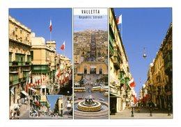 Malta. Valletta. Republic Street. Malte. La Valette. Rue De La République. - Malte