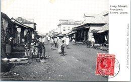 AFRIQUE --  SIERRA LEONE - Kissy Street , Freetown - Sierra Leone