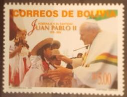 DE23- POPE JOHN PAUL II - BOLIVIA Mi # 1605, MNH JPII - Bolivie