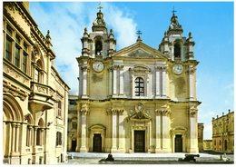 Malta. Mdina.Cathedral. Malte. Mdina. Cathédrale. - Malte