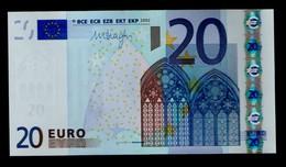 PORTUGAL 20 EURO ★ M ★ U021 A1  ★ (M) - UNC - FDS - NEUF - DRAGHI - EURO