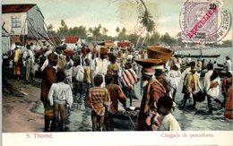 AFRIQUE --  SAO TOME Et PRINCIPE-- Chegada De Pescadores - Sao Tome Et Principe