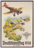 Dt-Reich (w00036) Privatganzsache Fech PP 127 C39, Propaganda Deutschlandflug 1938 22.-29.5., Ungebraucht - Deutschland