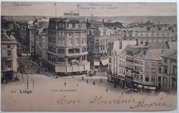 Liége. - Place Saint-Lambert.. - CPA  Rose Toilée De 1903 - Luik