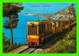 TRAINS - LIMON EXPRESS AT COSTA BLANCA, ESPANA - GALIANA - - Trains