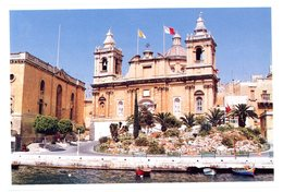 Malta. Vittoriosa. Saint Lawrence Conventual Church. Malte. Vittoriosa. Eglise Saint-Laurent. - Malte