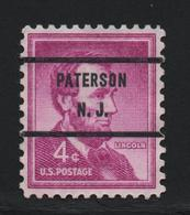 USA 1059 SCOTT 1036 PATERSON N.J. - Estados Unidos