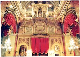 Malta. Vittoriosa. Organ Loft At Saint Lawrence Church. Malte. Vittoriosa. Les Orgues De L'église Saint-Laurent. - Malte