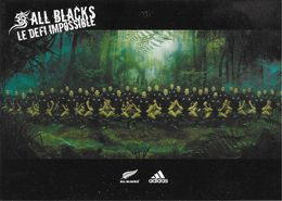 CPM SPORT RUGBY  ALL-BLACKS LE DÉFI IMPOSSIBLE ADIDAS STORE EDIT. DESCARTESMEDIA - Rugby