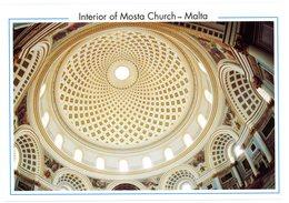 Malta. Interior Of Mosta Church. Malte. Intérieur De L'église De Mosta. - Malte