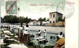 AFRIQUE --  SAO TOME Et PRINCIPE --  Lavadeiras No Rio Agua Grande - Sao Tome Et Principe