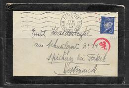 LOT 1812308 - N° 521A SUR LETTRE DE PARIS DU 17/12/43 POUR SPICHEREN - CACHET DE CENSURE - Postmark Collection (Covers)