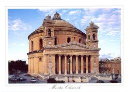 Malta. Mosta Church. The Rotunda Was Built Between 1833 And 1860 On The Design Of The Maltese George Grognet De Vasse. - Malte